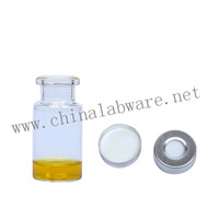 10ml clear GC vials
