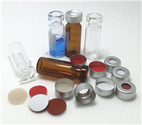 Gas chromatography vials