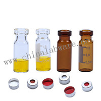 11mm crimp gas chromatography vials